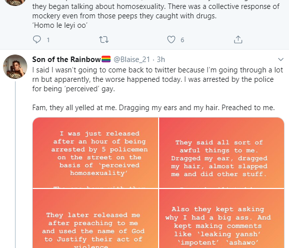5 Policemen Allegedly Arrest, Assault And Mock A Man, Call Him 'Leaking Yansh'- See Why