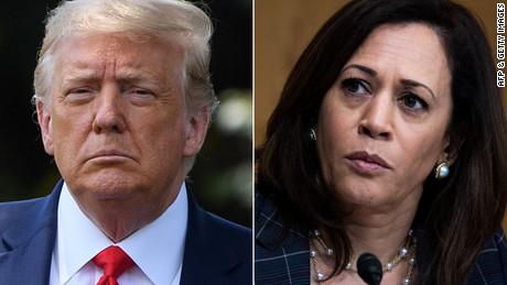 Kamala Harris Reacts To Trump's Birther Conspiracy Attacks