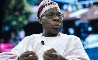Obasanjo says 14m children are out of school in Nigeria today