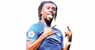 Iwobi faces stiff competition as Rodriguez joins Everton