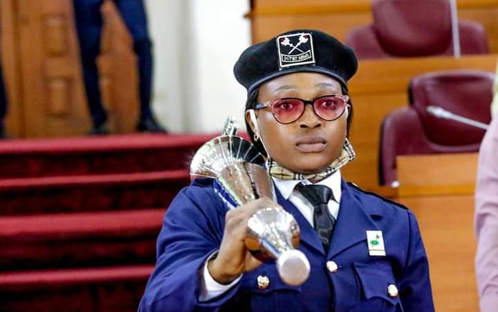 See First Female To Carry The Mace In Lagos House of Assembly-
