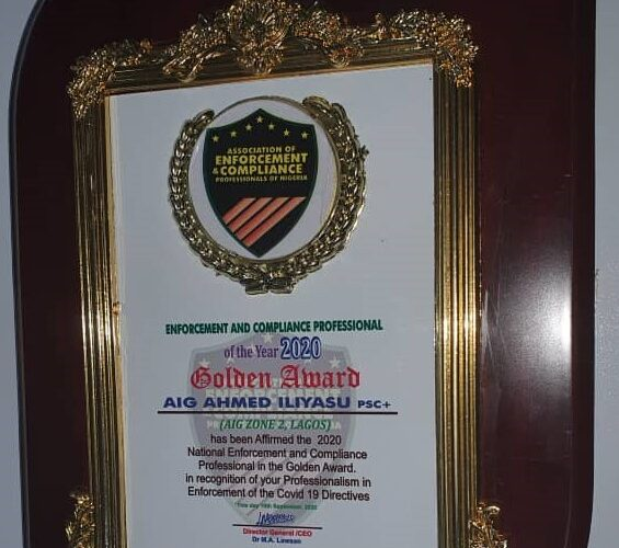 Enforcement and Compliance Professionals in Nigeria honours AIG Ahmed Iliyasu-