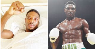 Nigerian boxer Sadiq hospitalised after defeat in Russia