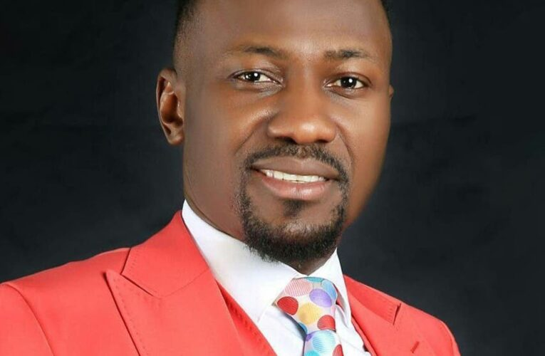 """""""Be Strong, Courageous, And Stay Focused"""" – Primate Ayodele Tells Apostle Suleman Amidst Sex Scandal-"""