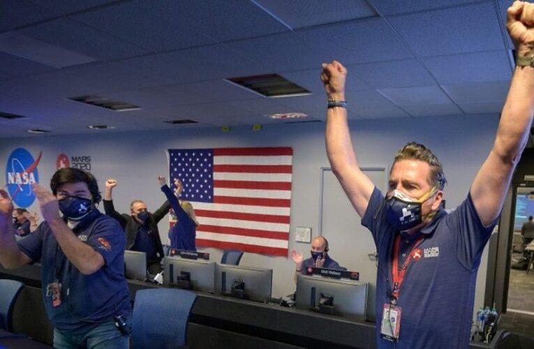 Mars landing: Nasa's Perseverance rover in 'great shape-