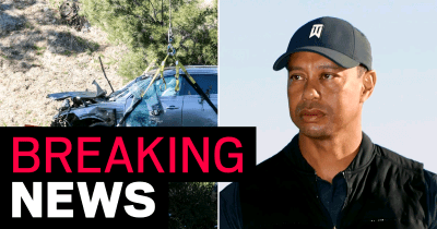 Breaking:Tiger Woods 'was speeding at 87mph when he crashed-