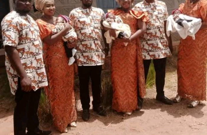 Triplets Who Married Wives Same Day Welcome Baby Boys Within Same Period in Enugu-