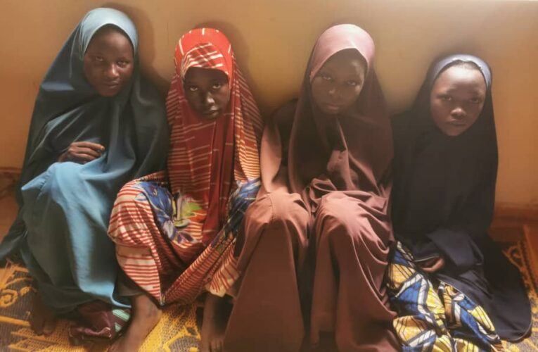 """OPERATION RESTORE PEACE"" IN ZAMFARA COMMAND RESCUES FOUR (4) KIDNAPPED FEMALE VICTIMS-"