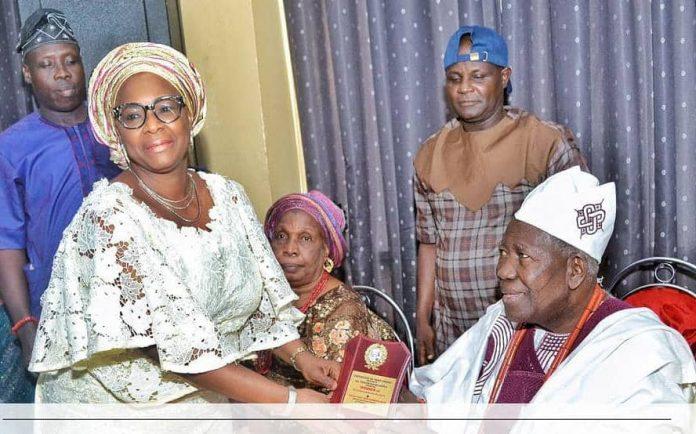Akande-Sadipe, House of Rep Member Congratulates Olubadan at 93-
