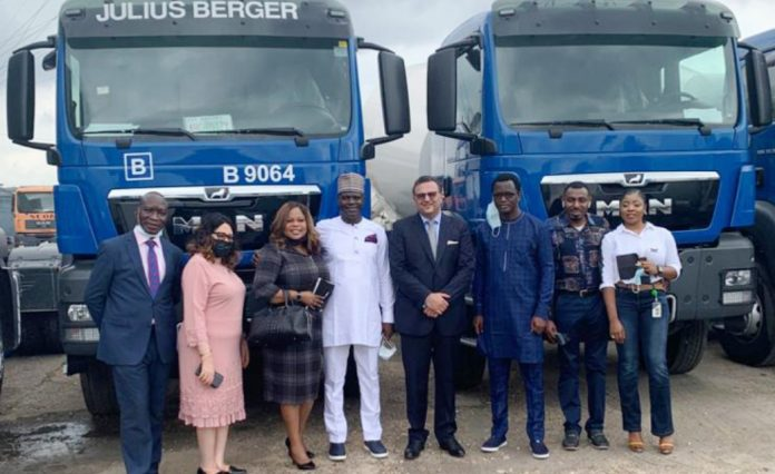 Unity Bank, Others Facilitates Supply Of N15.5B Worth of Trucks, Equipment to Julius Berger As SCOA Boss Commends-